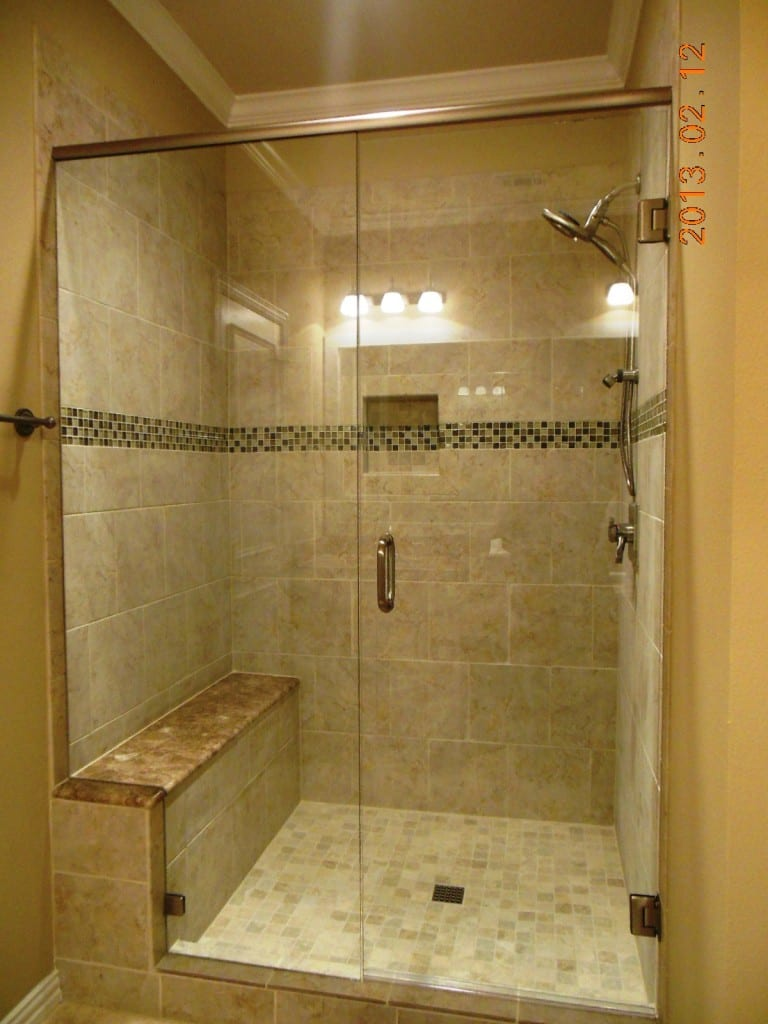 dillard alcove tub to shower conversion after