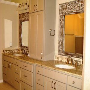 master bath vanity remodel