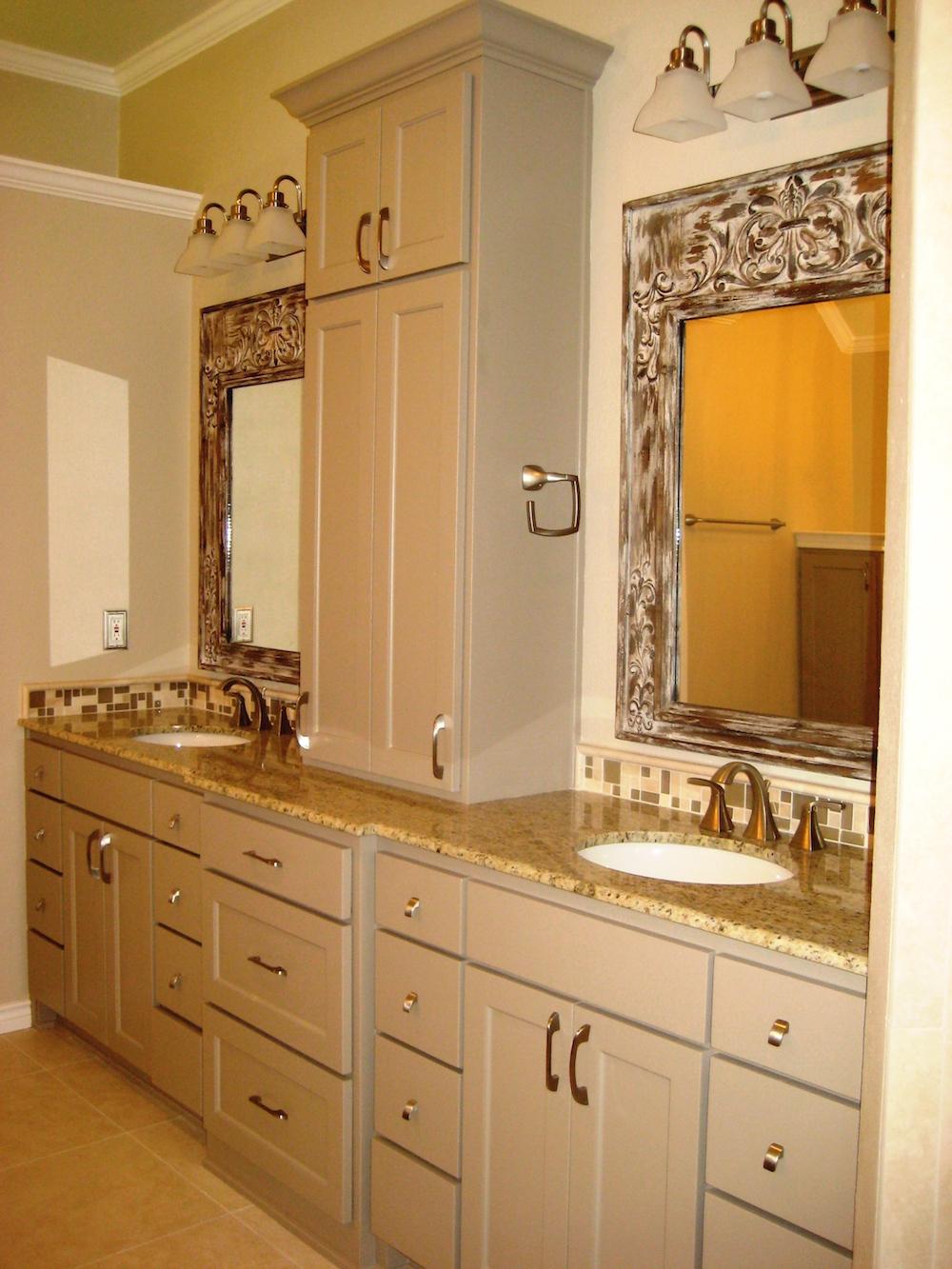 Master Bath Vanity Remodel Agape Home Services