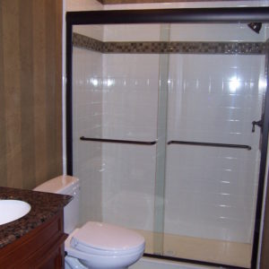 convert tub to shower