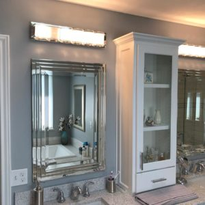 custom bathroom remodel in dallas texas