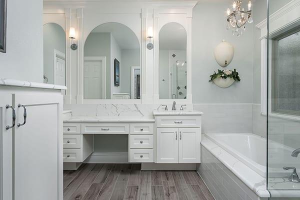 Plano Master Bath Remodel - Agape Home Services